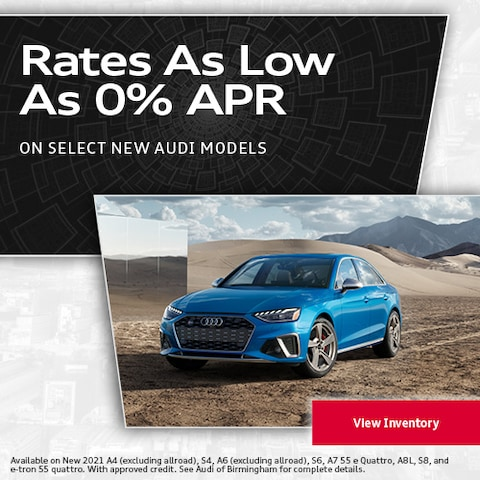 Rates As Low As 0% APR