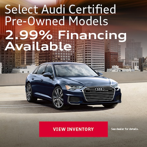 Select Audi Certified Pre-Owned Models
