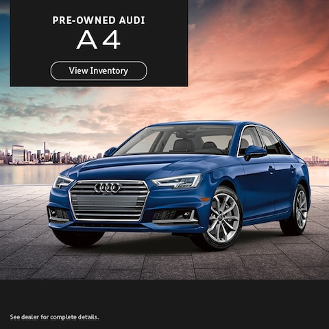 Pre-Owned Audi A4