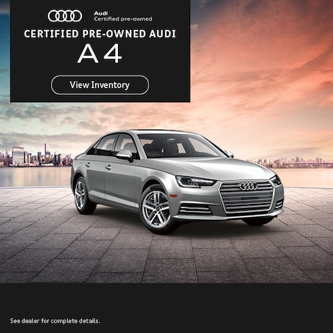 Certified Pre-Owned Audi A4