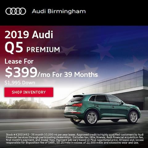 June 2019 Audi Q5 Premium