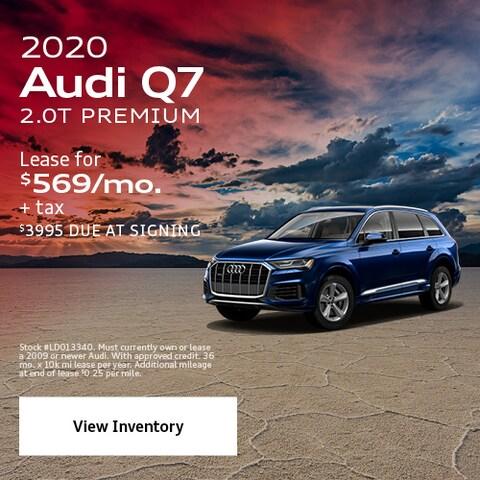2020 Audi Q7 2.0T Premium