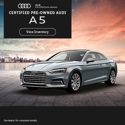 Certified Pre-Owned Audi A5