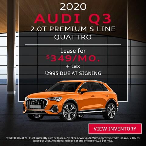 2020 Audi Q3 2.0T Premium S Line Quattro