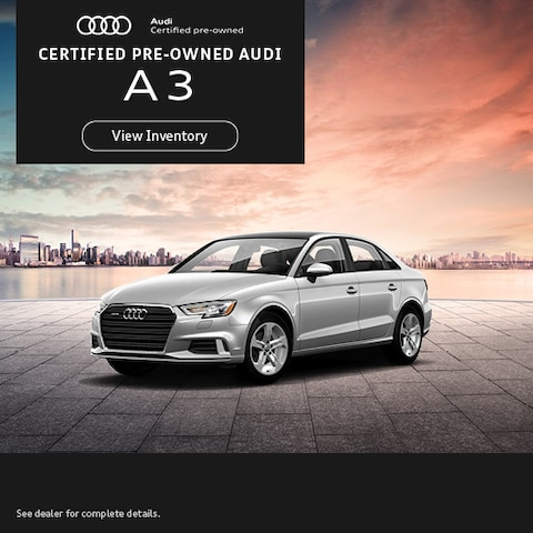 Certified Pre-Owned Audi A3