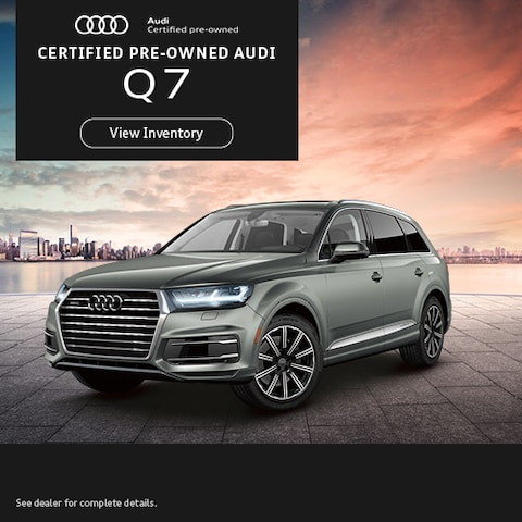 Certified Pre-Owned Audi Q7