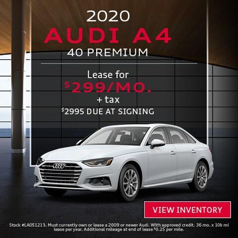 2020 Audi A4 40 Premium