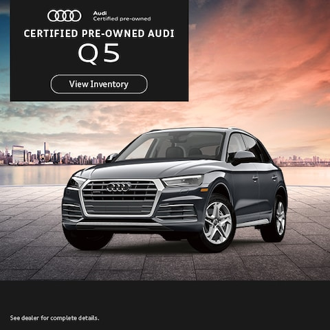 Certified Pre-Owned Audi Q5