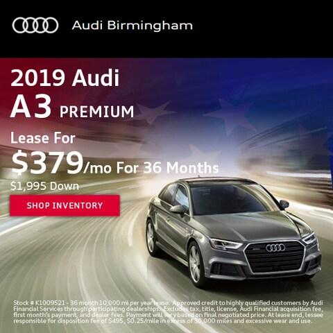 June 2019 Audi A3 Premium