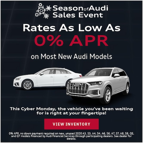 Rates As Low As 0% APR Cyber Monday