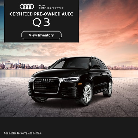 Certified Pre-Owned Audi Q3