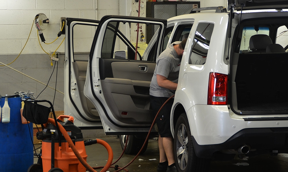 Odor Removal at Auto Detail Plus Indianapolis Indiana Vehicle Care
