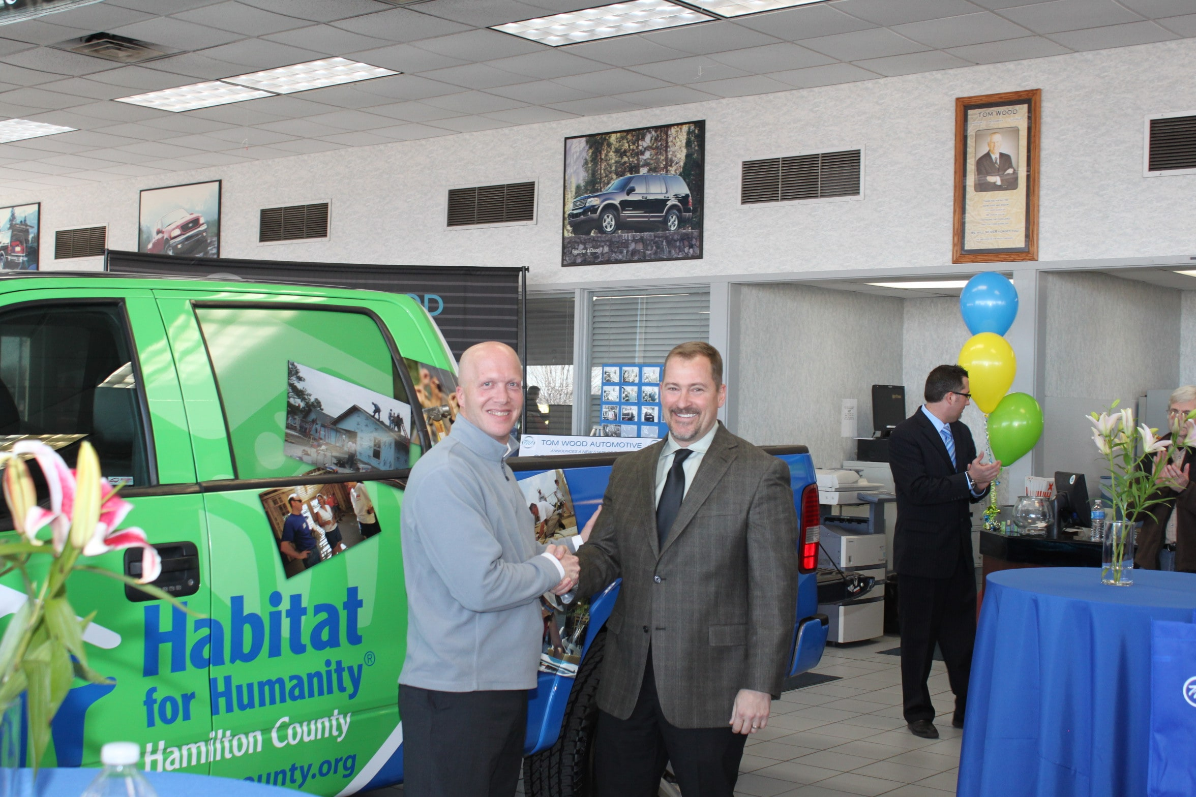 Tom Wood Automotive Provides A Huge Gift To Habitat For Humanity Of