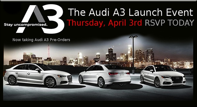 Tom Wood Auto Group RSVP Today For Tom Wood Audis A Launch Day Event - Tom wood audi