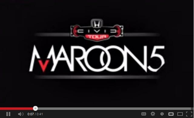 Enter to Win Maroon 5 Tickets at Tom Wood Honda | Tom Wood