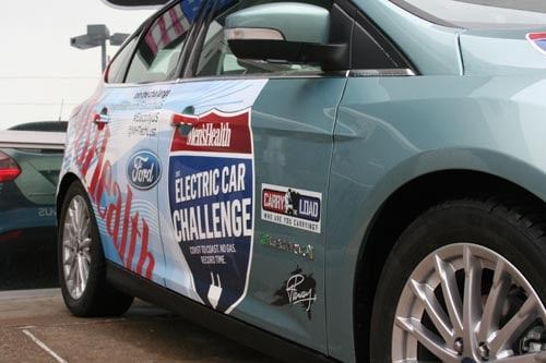 Tom Wood Ford Participates In The 2012 Electric Car Challenge Tom