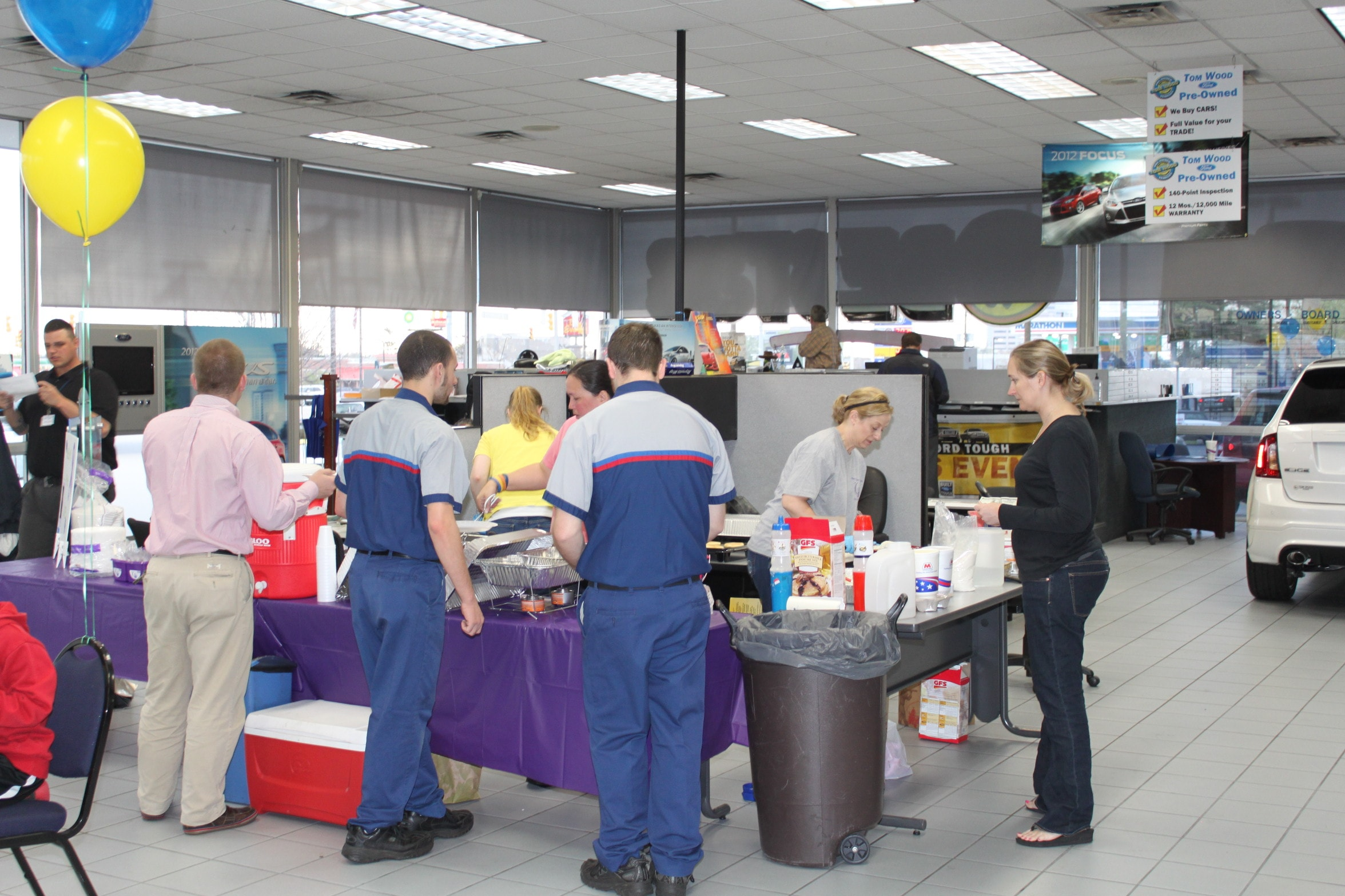Tom Wood Ford Hosts Pancake Breakfast For Charity Tom Wood Auto Group