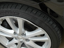 bent wheel?