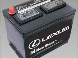 lexus battery