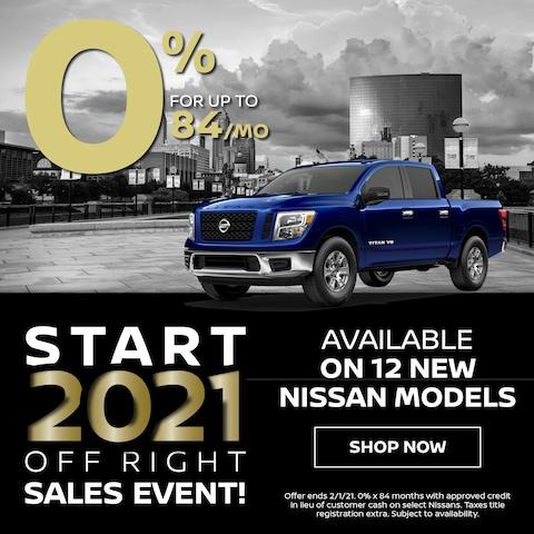 12 New Nissan Models 0%