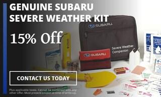Genuine Subaru Severe weather kit