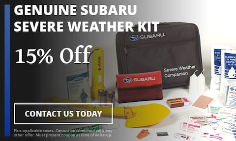 Genuine Subaru Severe weather kit