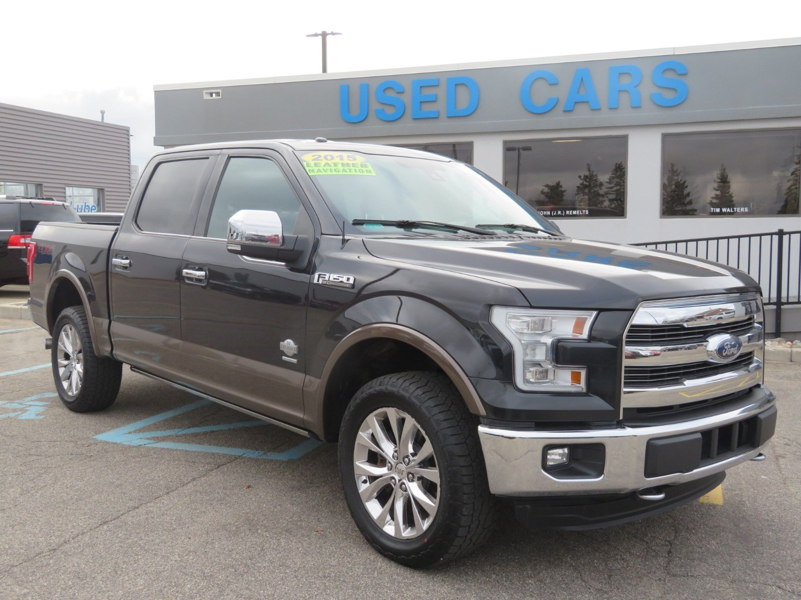 Used 2015 Ford F-150 JAVA MESA ANTIQUE LEATHER for sale in Grand Rapids