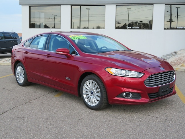Certified 2016 Ford Fusion Energi SE Luxury Sedan for sale in Grand Rapids