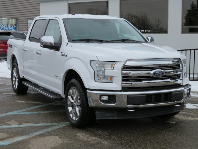 Used 2017 Ford F-150 Lariat Lariat 4WD SuperCrew 5.5 Box for sale in Grand Rapids