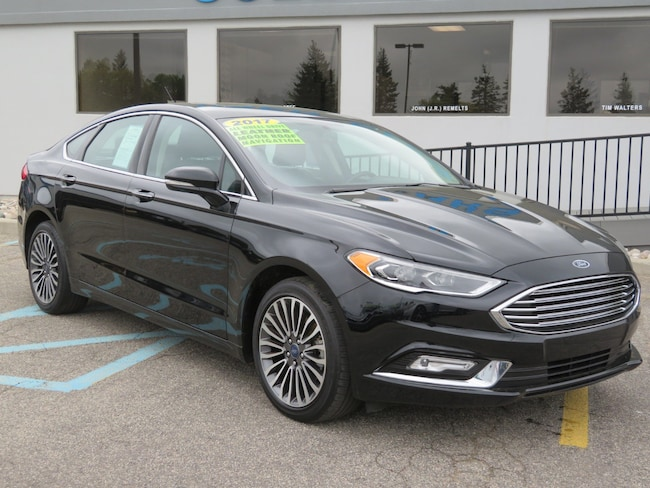 Used 2017 Ford Fusion SE SE AWD for sale in Grand Rapids