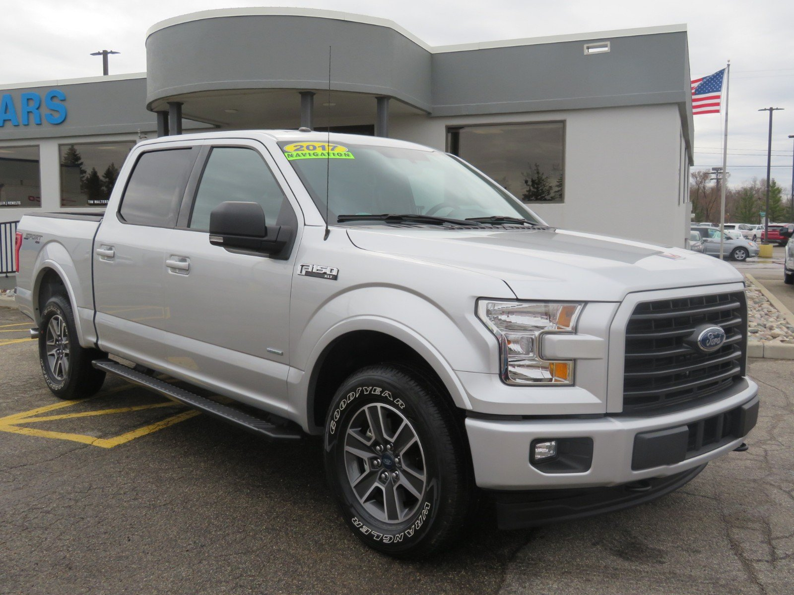 Used 2017 Ford F-150 BLACK SPORT CLOTH for sale in Grand Rapids