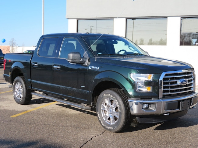 Used 2016 Ford F-150 Super Crew XLT 4x4 Chrome PKG 4WD SuperCrew 145 XLT for sale in Grand Rapids