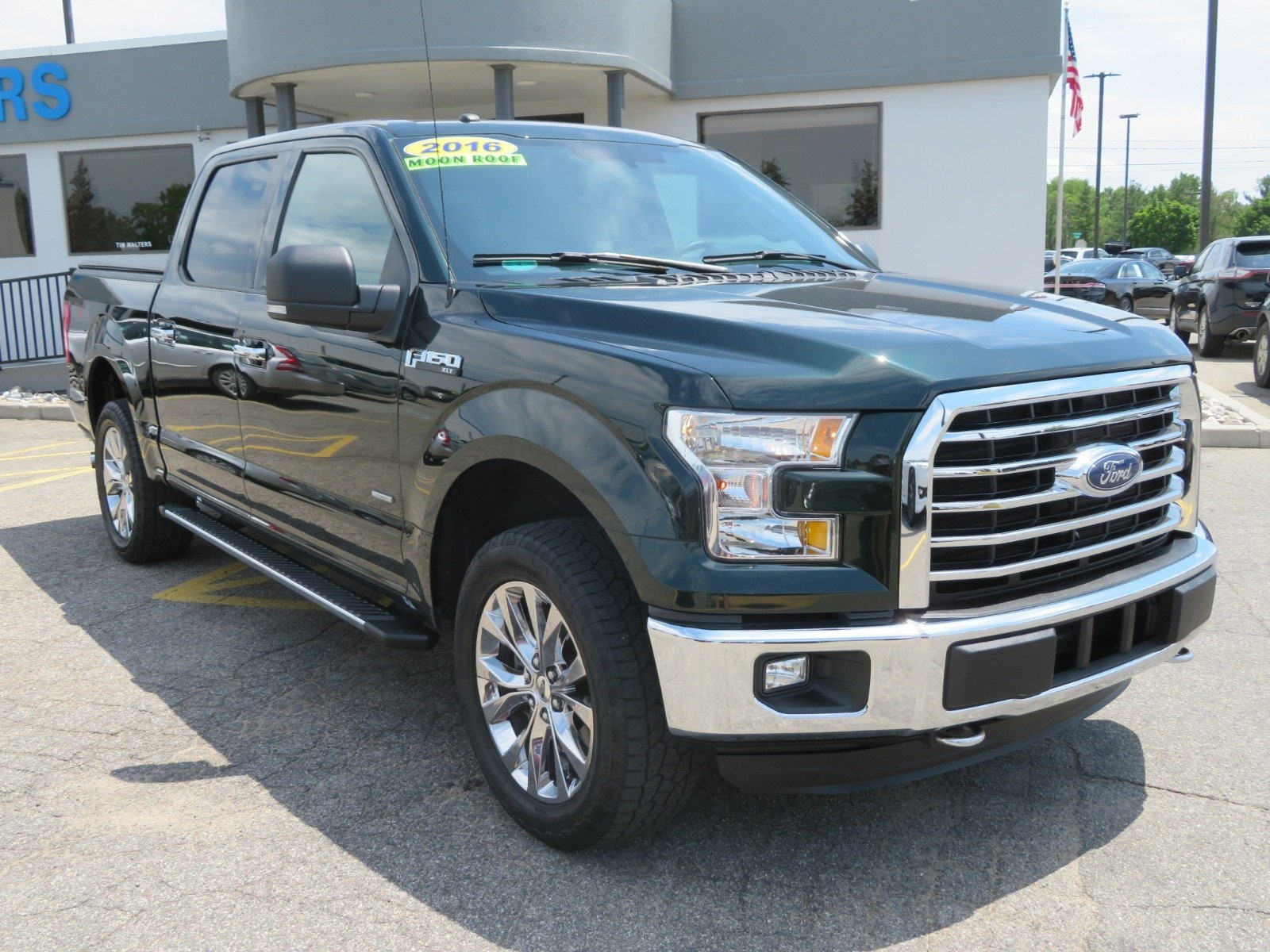 Used 2016 Ford F-150 XLT 4WD SuperCrew 145 XLT for sale in Grand Rapids