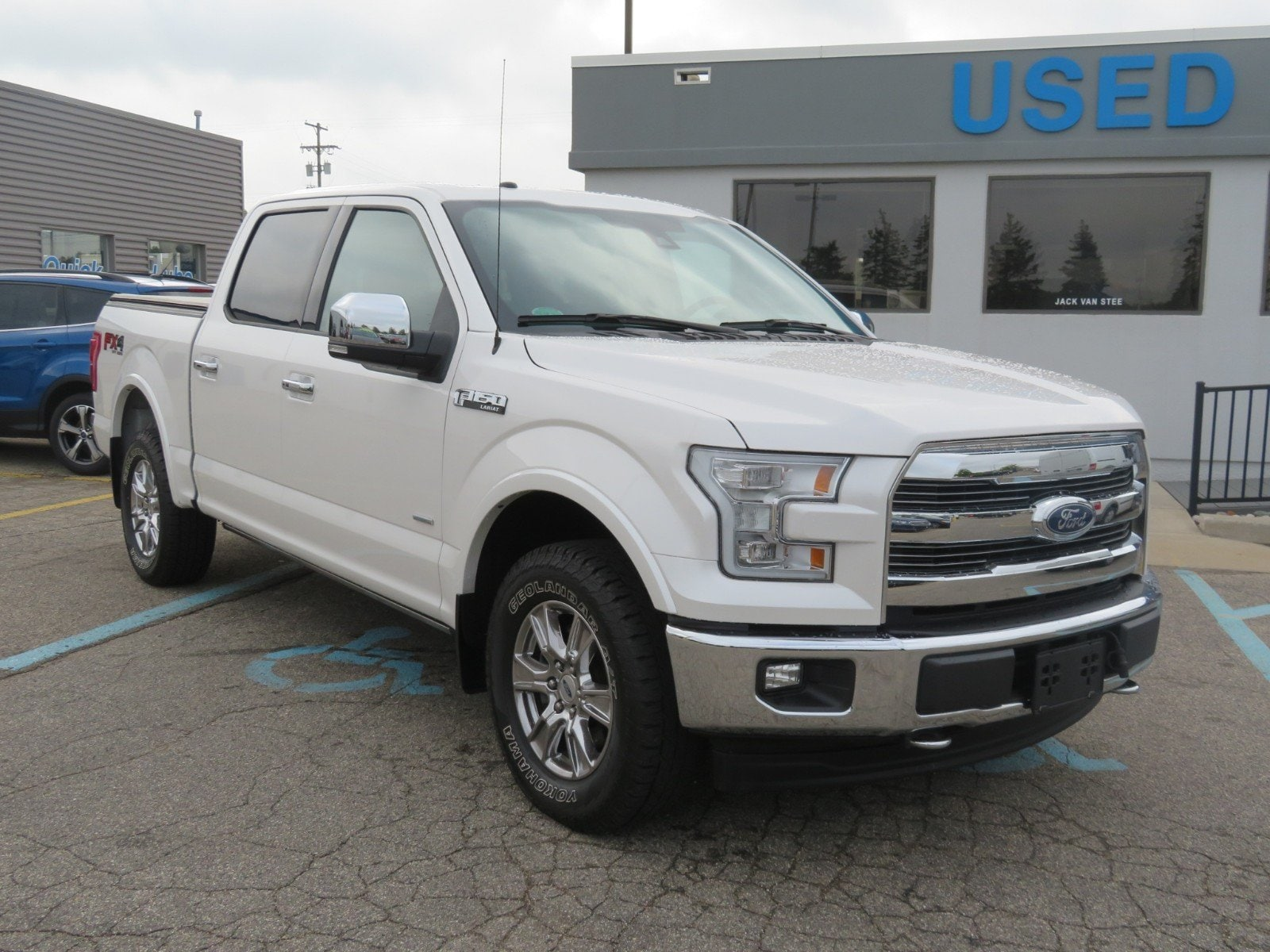 Used 2017 Ford F-150 BLACK LEATHER for sale in Grand Rapids