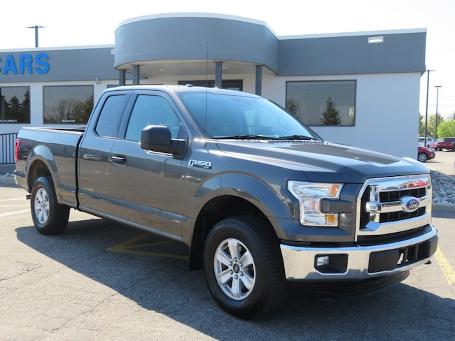 Used 2015 Ford F-150 GRAY for sale in Grand Rapids