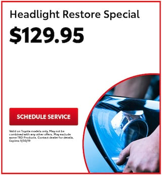 headlight Restore Special