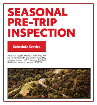 Seasonal Pre-Trip Inspection