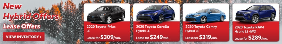 New Hybrid Offers Lease Offers