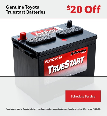 Genuine Toyota Truestart Batteries