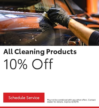 All Cleaning Products 10% Off
