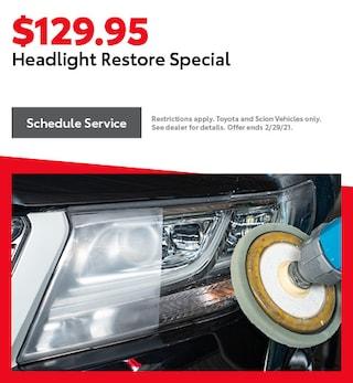 Headlight Restore Special