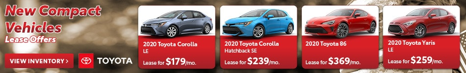 New Compact Vehicles Lease Offers
