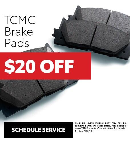 TCMC Brake Pads