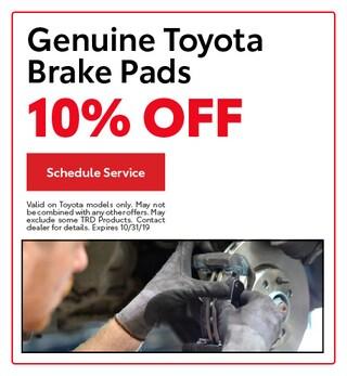 Genuine Toyota Brake Pads