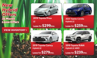 New Hybrid Offers 36 Month Lease Offers