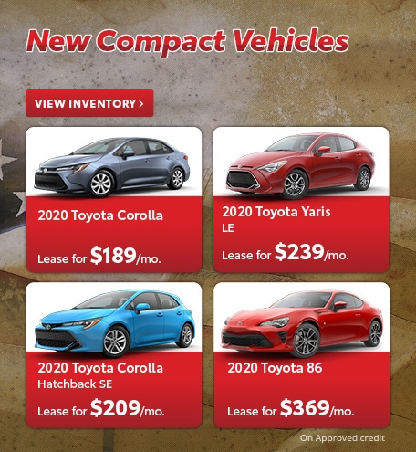 New Compact Vehicles