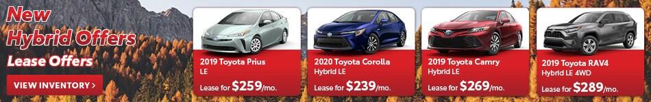 New Hybrid Offers
