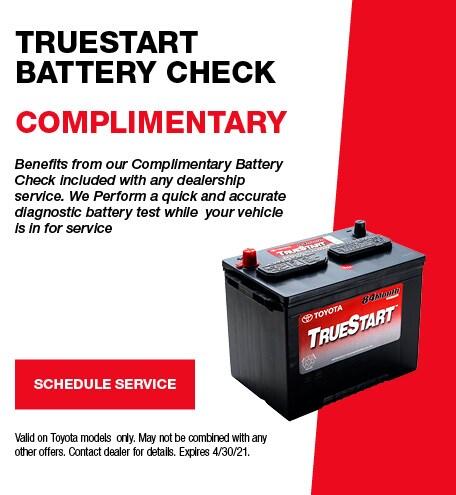 TrueStart Battery Check
