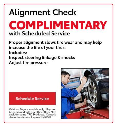 Alignment Check