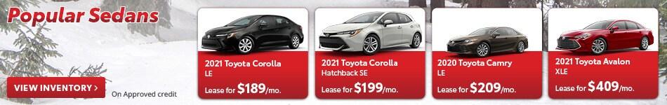 Popular Sedans